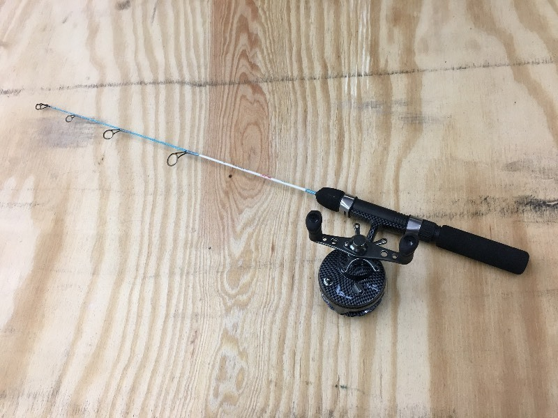 Eagle Claw Ice Rod & Reel Combo