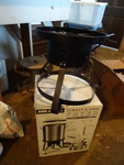 Mr. Grill Turkey and Fish Fryer.  Used Once