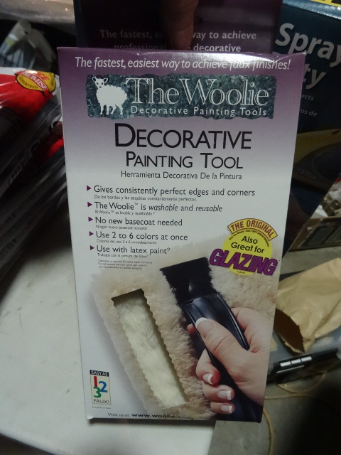 NEW LOT Qty 7 The Woolie Decorative Painting Kit. Use for Faux painting, multiple colors, glazing and more. Washable and Reuseable.Approx Retail $308