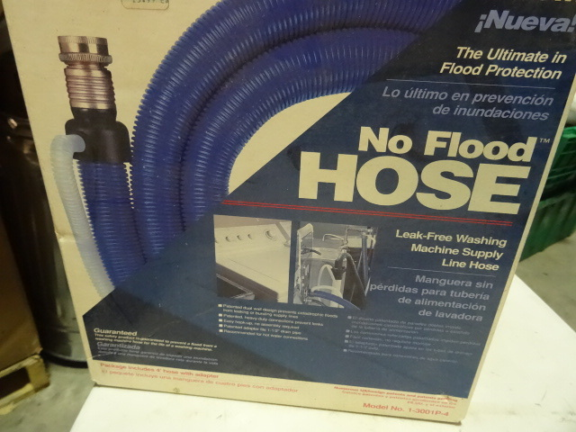 NEW No Flood Leak-Free Washing Machine Supply Hose The Ultimate in Flood Protection