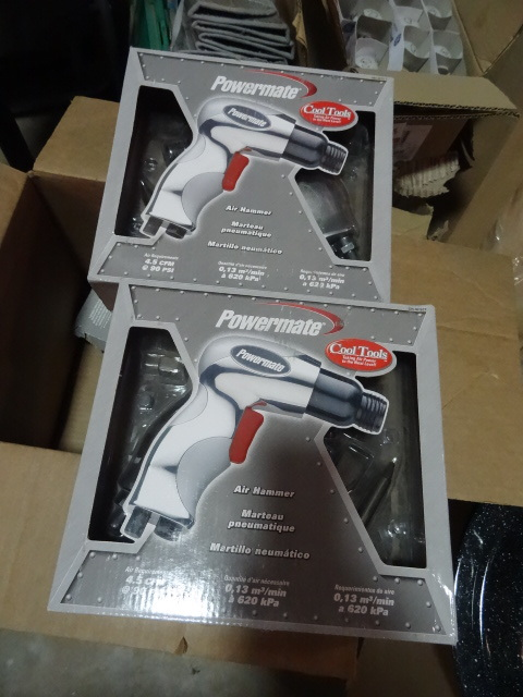 Coleman Powermate Pneumatic Air Hammers, unknown condition, not able to test