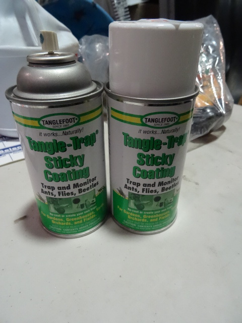 NEW Qty 2 Cans Tangle-Trap Sticky Coating to trap and monitor ants flies and beetles