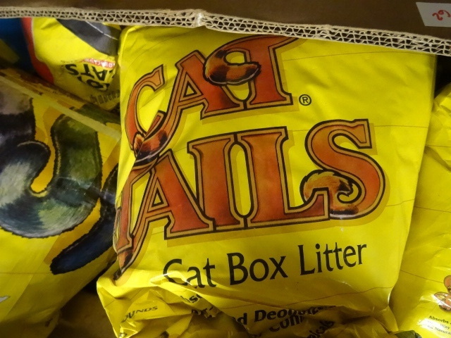 NEW 2  Bags of Cat Tails Kitty Litter 2 bags approx 100 lbs total