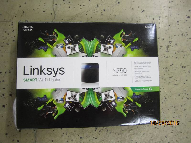Linksys smart wifi router N750...