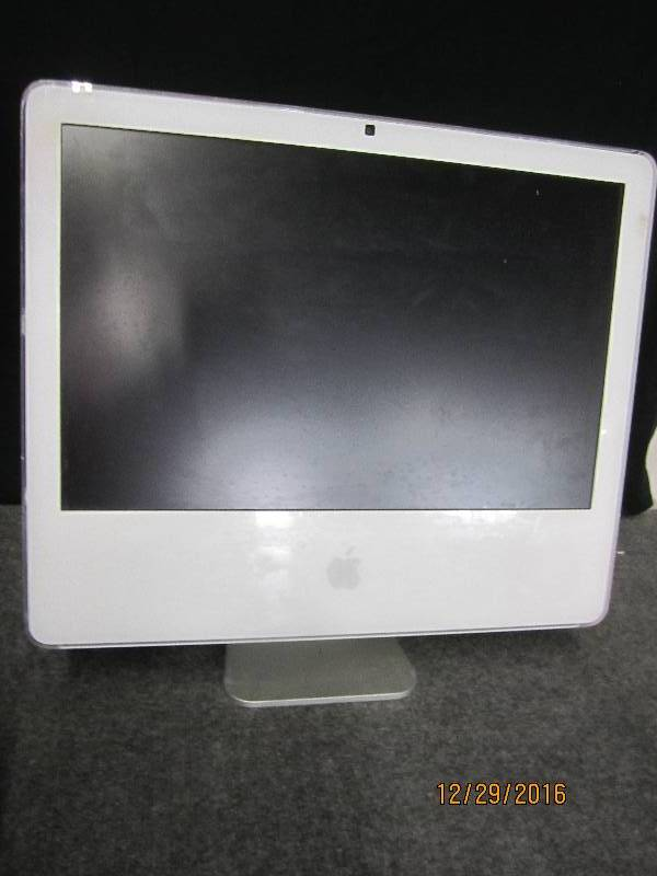 Apple I mac with web cam no cords s...
