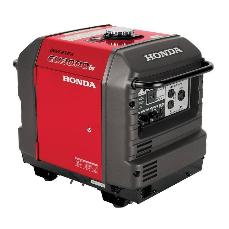 honda 3 000 watt super quiet gasoline powered electric