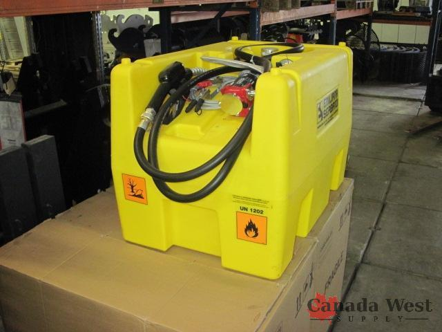 New 58 Gallon Portable Fuel Tank W Pump New Tools