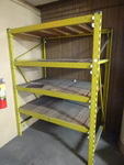 Pallet rack unit. 2 uprights. 82 x ...