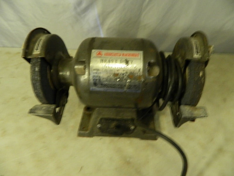 6 Inch Bench Grinder Guitars Tools Collectibles Furniture Estate Liquidation K Bid