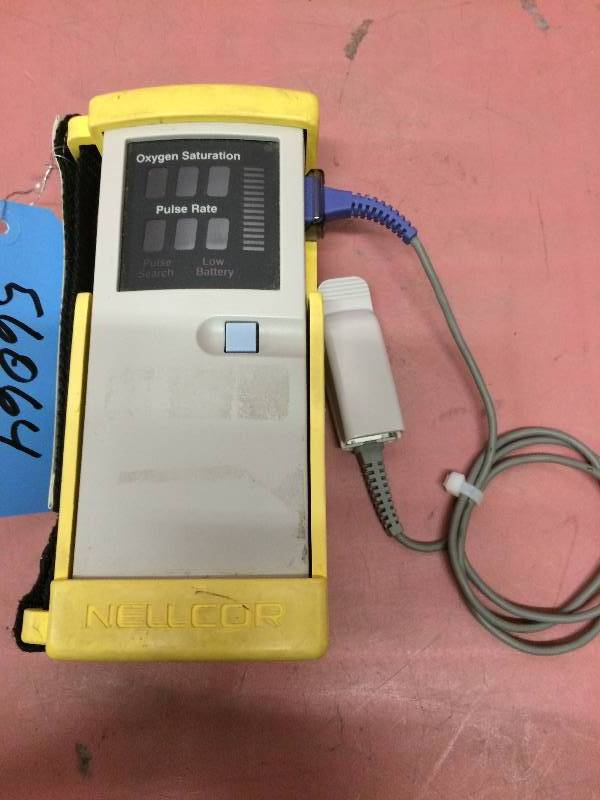 Retails USED $500 Nellcor N20 Handheld Portable Pulse Oximeter Adult