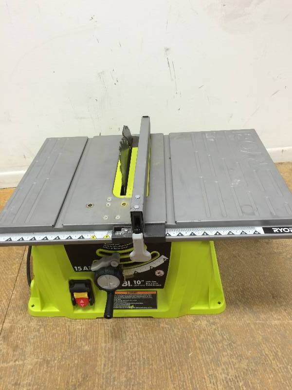 Ryobi 15 Amp 10 In. Table Saw Used Model # RTS10G | KX Real Deals Auction  General Merchandise, Furniture ,Tools, More Hastings | K BID