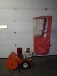 "24"" Airens Snow Blower with wind guard and electric start"