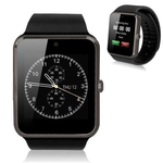 New GT08 Bluetooth Smart Wrist Watch with Camera in Black