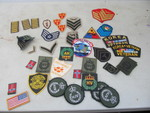 Collection of Military Patches
