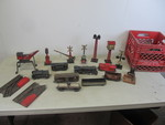 Vintage Tin MARX Train Set w/Track & Accessories