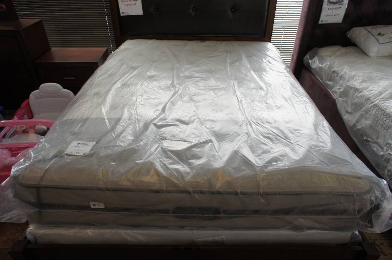 New Queen Size Simmons Beautyrest Vanderbilt Collection Allie Firm Mattress Lg Liances Mattresses Snower Electronics