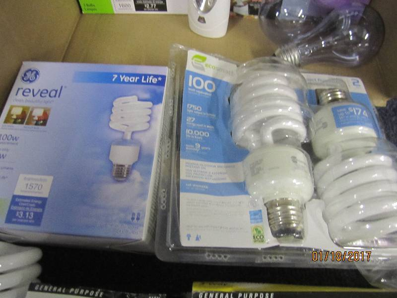 Assorted Cfl 39 S Light Bulbs Etc Electronics