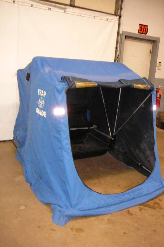 Portable fish house consignment sale 455 k bid for Portable fish house