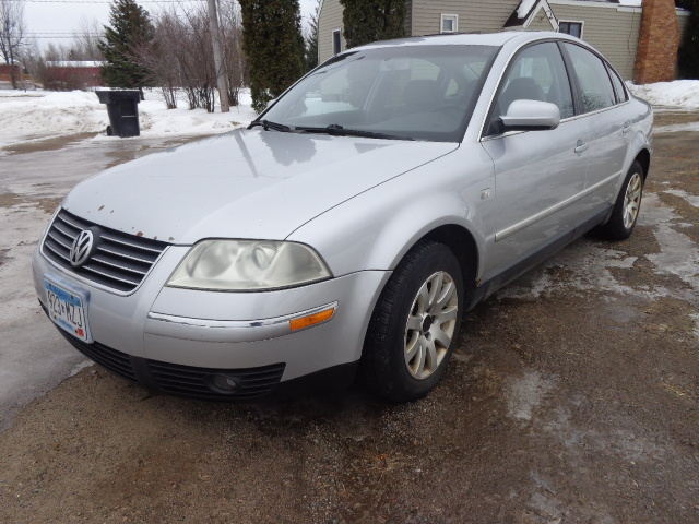 2003 Volkswagen Passat 4d Pgs February Vehicle Auction