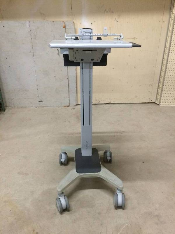 Retails Used 600 Ergotron Sit Stand Height Adjustible