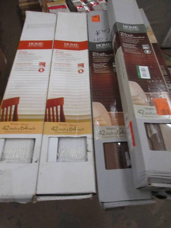 5 home decorators 42 x64 faux wood mattresses window blinds publisher 39 s book clearance - Home decorators faux wood blinds gallery ...