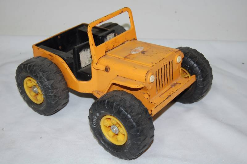 Tonka Toy Jeep January Consignment Auction K Bid