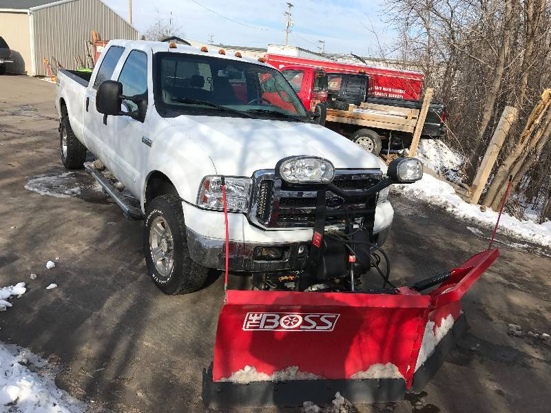 2006 Ford F-350 Lariat Super Duty Powerstroke 4x4 Plow ...