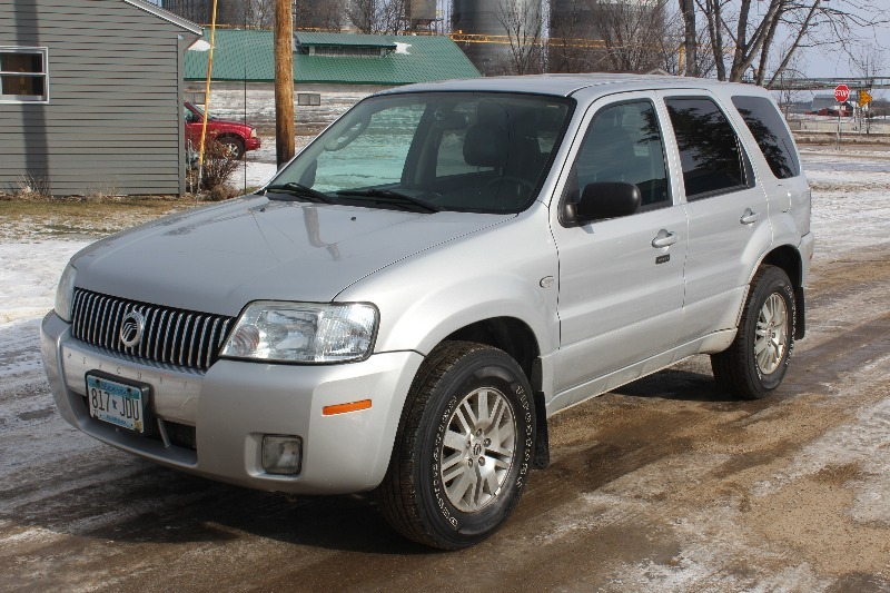 2005 mercury mariner premier edition 4x4 mnautoauctions. Black Bedroom Furniture Sets. Home Design Ideas