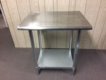 STAINLESS STEEL SHELVING / TABLE