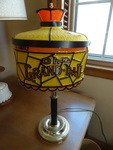 Old Grand Dad Bourbon table lamp. 1...