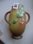 Roseville pottery Fushia tan 1939...