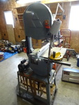 "Delta 14"" wood cutting band saw. Mo..."