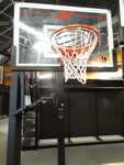 "Lifetime 54"" basket ball hoop. Bran..."