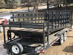 Contractors Flat Bed With Lift Gate