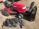 Craftsman Lawn Tractor With Snowblower