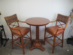 BEAUTIFUL High End Bistro Table & Chairs