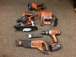 Set of Rigid Power Tools