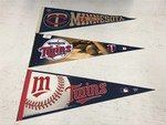 "(3) MN Twins 30"" Sports Banners ..."