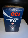 CCI Standard velocity 22 lr 22 long rifle lead round nose
