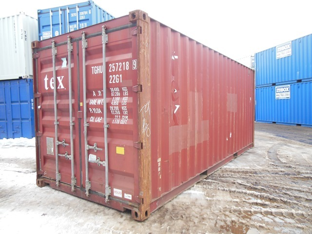 20u0027 (approx) Steel Shipping Container / Storage Box / Sea Container | Dry Van Trailers (Pup and Storage all w/ current DOT) and 20 ft Sea Containers ... & 20u0027 (approx) Steel Shipping Container / Storage Box / Sea Container ...
