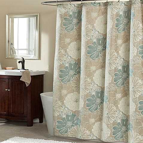 Mstyle Suzy Shower Curtain In Blue New