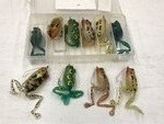 10-Pack Of Holographic Frog Lures ...