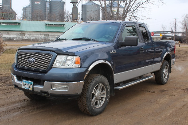 2005 ford f150 extended cab 4 door 4x4 291 no reserves k bid. Black Bedroom Furniture Sets. Home Design Ideas