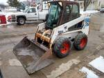 2001 Bobcat 763 Skid Loader, Enclos...