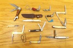 Lot of Miniature Keychain etc. Folding Pocket Knives