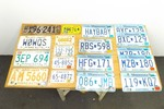 Lot of Vintage Minnesota License Plates