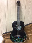 ESTEBAN LE DUENDE ELECTRIC ACOUSTIC GUITAR & CASE