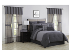 Brand New alcove Marina 30 Piece California King Bedroom Super Set