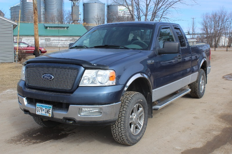 2005 ford f150 extended cab 4 door 4x4 295 no reserve trucks k bid. Black Bedroom Furniture Sets. Home Design Ideas