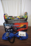 "NEW - 10"" Smart Balance Wheel - Hoverboard - Real Rubber Tires - Graffiti Color - Bluetooth Compatible - Remote - Charger - MSRP $899.99"